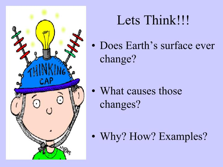 Lets Think!!!