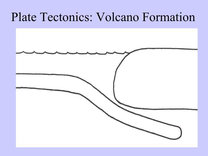 Plate Tectonics: Volcano Formation