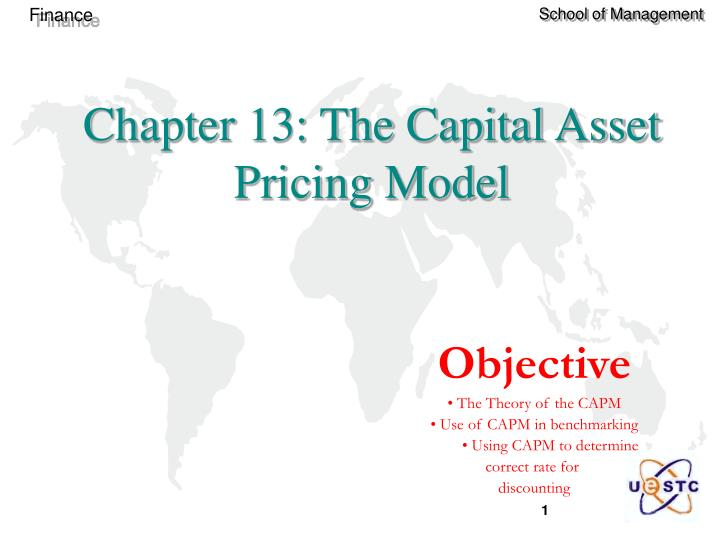chapter 13 the capital asset pricing model n.