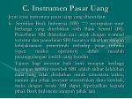 c instrumen pasar uang2