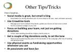 other tips tricks