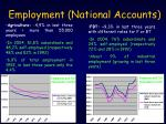 e mployment national accounts