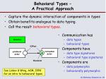 behavioral types a practical approach