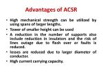 advantages of acsr