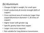 b aluminium