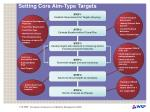 setting core aim type targets