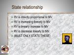 state relationship