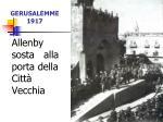 gerusalemme 1917