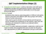 qat implementation steps 2