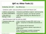 qat vs other tools 1