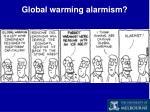 global warming alarmism