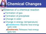 chemical changes1