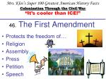 46 the first amendment