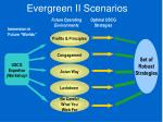 evergreen ii scenarios