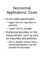nonnormal applications clues