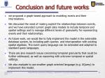 conclusion and future works
