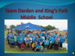 team darden and king s fork middle school