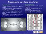 tropospheric meridional circulation