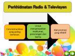 perkhidmatan radio televisyen