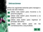 intrucciones