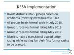 kesa implementation