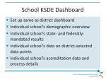school ksde dashboard