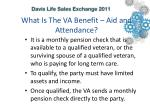 what is the va benefit aid and attendance