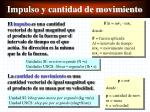 impulso y cantidad de movimiento1