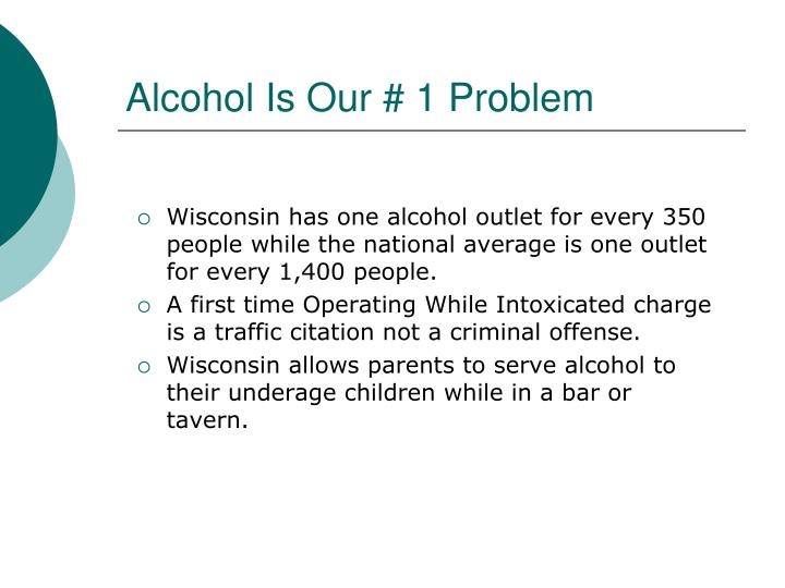 Alcohol Is Our # 1 Problem