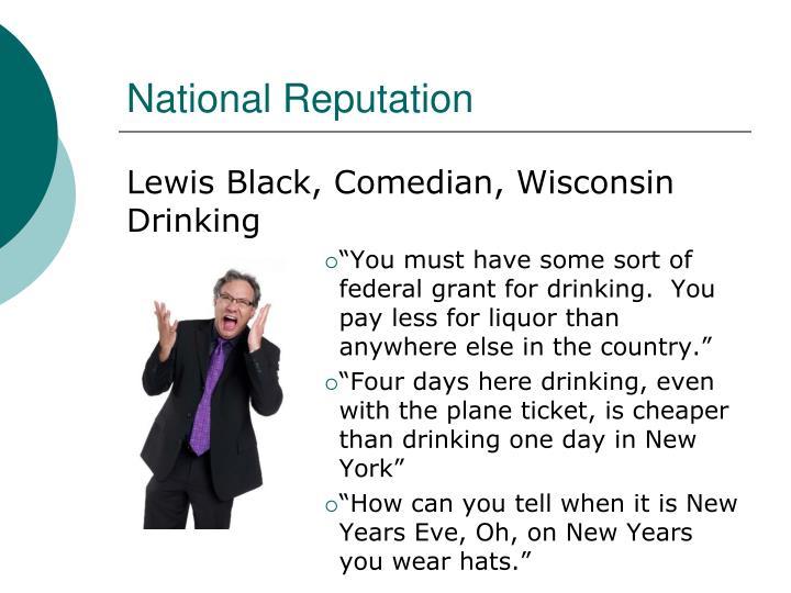 National Reputation