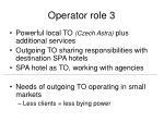 operator role 3