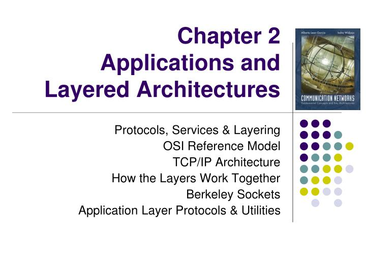 chapter 2 applications and layered architectures n.