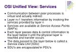 osi unified view services
