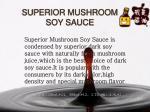 superior mushroom soy sauce
