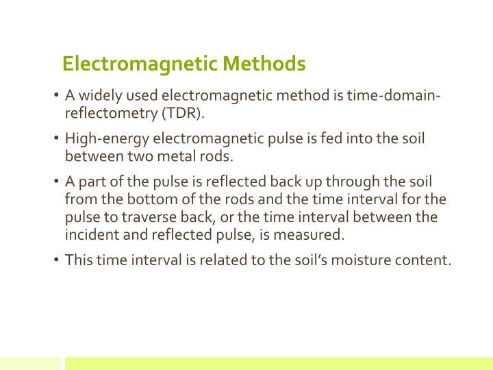Electromagnetic Methods