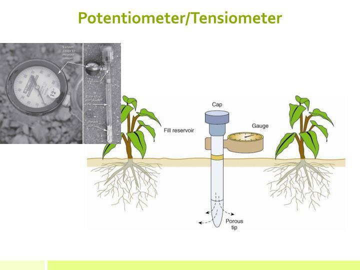 Potentiometer/Tensiometer
