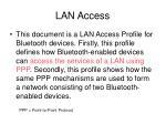 lan access