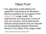 object push