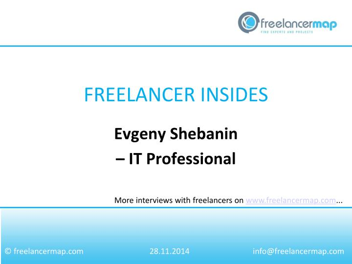 evgeny shebanin it professional n.