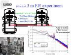 tama sas 3 m f p experiment1
