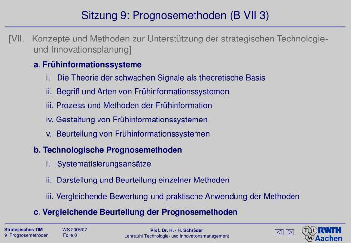 sitzung 9 prognosemethoden b vii 3 n.