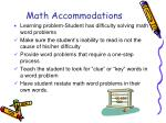 math accommodations1
