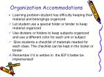 organization accommodations1