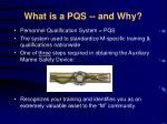what is a pqs and why