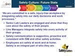 safety culture future state