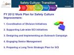 safety culture transition
