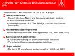 10 punkte plan zur rettung der deutschen wirtschaft 1 2