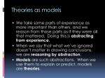 theories as models