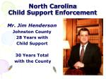 north carolina child support enforcement8
