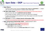 open data ogp open government partnership